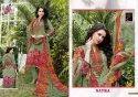 Green Cotton Khushika Ladies Printed Suits