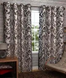 Polyester Embroidered Curtains