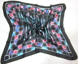 Printed Square Scarves