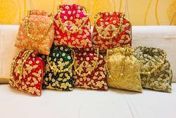 Embroidered Handed Potlis For Wedding