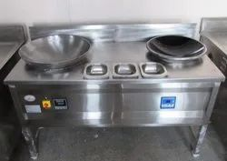 Induction Shallow Fryer With Wok