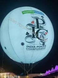 Sky led advertising balloon