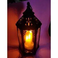 Black Decorative Candle Lanterns