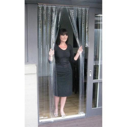Plain PVC Door Curtain