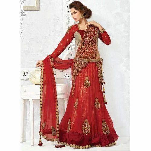 a5366d9644 Bridal Lehenga Choli at Rs 8000 /piece | Anna Nagar | Chennai | ID ...