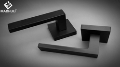 Matt Black Lever Handle