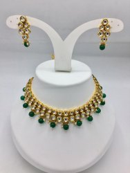 Double Kundan Necklace Sets