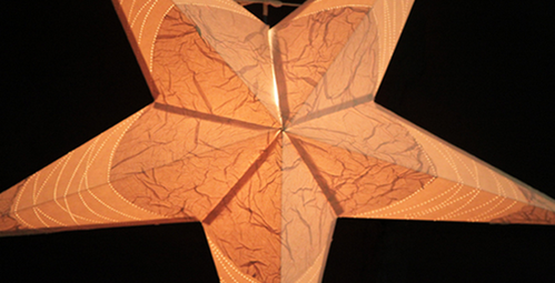 Paper star lamp shades inmark exports private limited exporter paper star lamp shades aloadofball Gallery