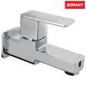 Stainless Steel Somany Kenzo Bib Cock With Wall Flange