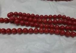 Natural Coral Round Beads