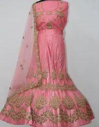 Designer Velvet Wedding Lehenga