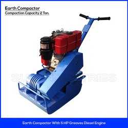 Earth Compactor with 5 HP Engine