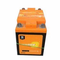 Capacity (Ah): 7 Ah Warranty: 36 Months Power Zone 36PZTX25 Two Wheeler Battery