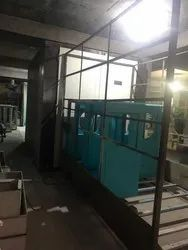 Almirah and Cooler Powder Coating Plant