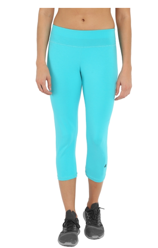 Jockey J Teal And Black j teal and black knit sports capri