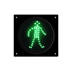 Green Pedestrian Traffic LED Light
