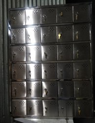 Stainless Steel Mobile Locker