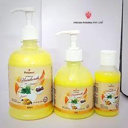 Piekleen Herbal Anti Bacterial Lemon Hand Wash, Packaging Type: Bottle, Packaging Size: 500ml And 250ml, 100ml