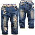 Kids Shaded Denim Jeans