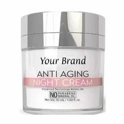 Third Party Manufacturing Anti Aging Night Cream