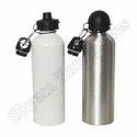 Double Sipper White Sublimation Bottle