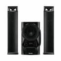 2.1 Black Philips Mms2160b/94 Multimedia Speaker System