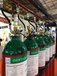 Inert Fire Suppression System