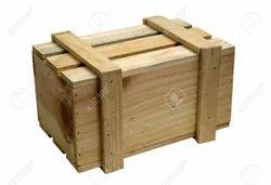 Hard and Pine wood Wooden Packaging Box, Box Capacity: 0-2000 Kg