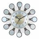 Wooden Glass Wall Clock