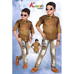 Boy Cotton Kids Party Wear