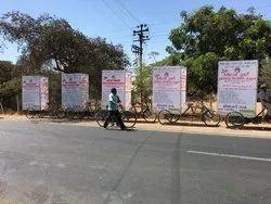 Advertising Tricycle rickshaw