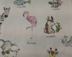 Printed Curtains Fabric