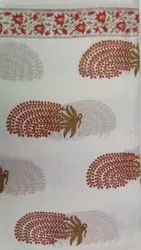 Garments Hand Block Printed Cotton Fabric