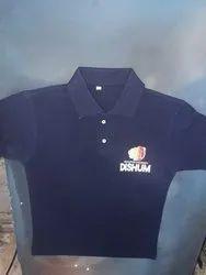 Half Sleeve Casual Wear Ladies Polo Neck T Shirt