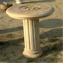 Stone Garden Coffee Table, Shape: Round