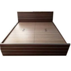 Brown Modern Double Beds, For Hotel, Size: 6x6