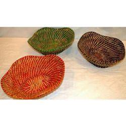 Bamboo Cane Fruit Basket