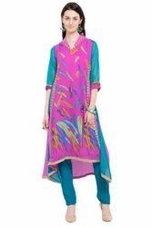 Charming Designer Printed Kurti Tunic