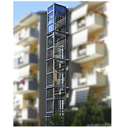 Hydraulic Elevator, Capacity: 2-4 persons