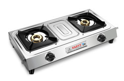 Double Burner Gas Stove SU 2B-204-MINI CLIX