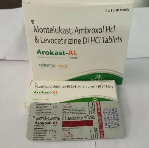 Arokast-Al, Packaging Type: Strips