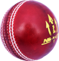Red Leather Cricket Balls