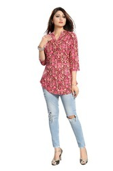 Womens Crepe Top