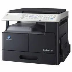 Windows XP Multi-Function konica minolta 206, Supported Paper Size: A3