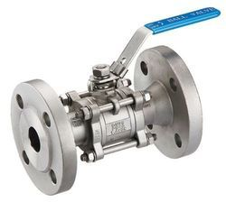 SS Manual Operated Flange End Ball Valve