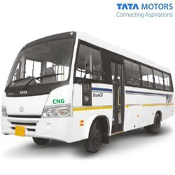 Tata Motors Starbus Tarmac Coach on LP 913/49 CNG, Overall Length: 9302 mm