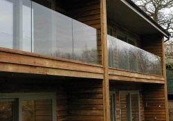 Frameless Glass Balcony Railing