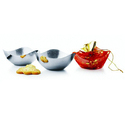 Steel Dinnerware Bowl