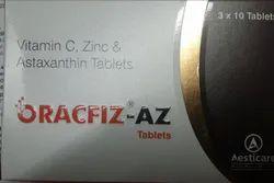Vitamin C Zinc and Astaxanthin Tablets