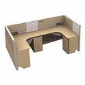 Modular Workstation I Modular Office Workstation C-Type Seating (MRK Furniture)